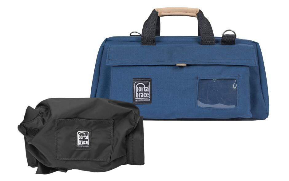 Porta Brace CS-DV3UQS-M2 Camera Case Soft, Blue, Large