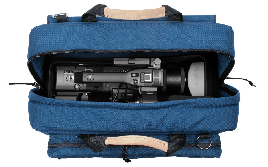 Porta Brace CS-DV4U Camera Case Soft, Compact HD Cameras, Blue, XL