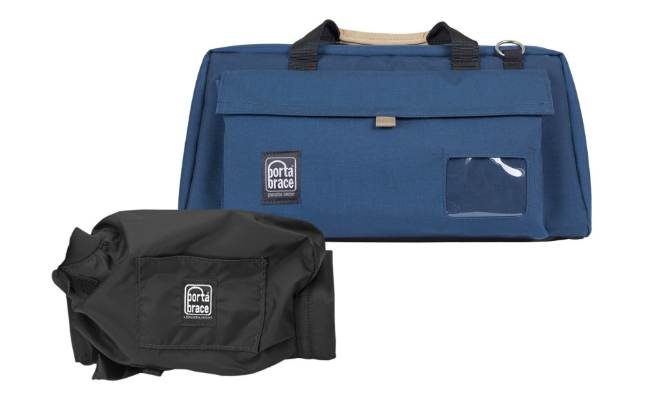 Porta Brace CS-DV4UQS-M2 Camera Case Soft, Blue, XL