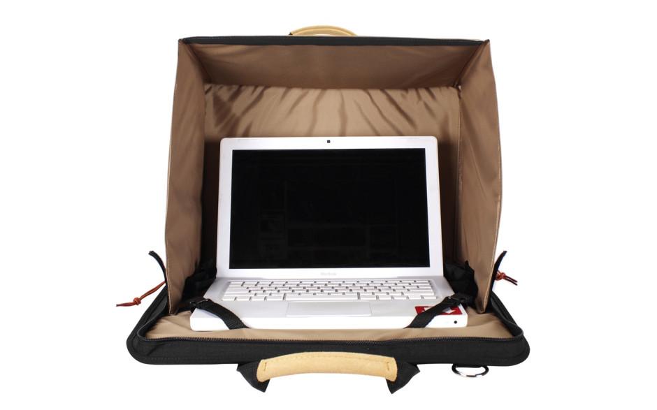 Porta Brace DC-3VB Director's Case, Laptop Case, Black