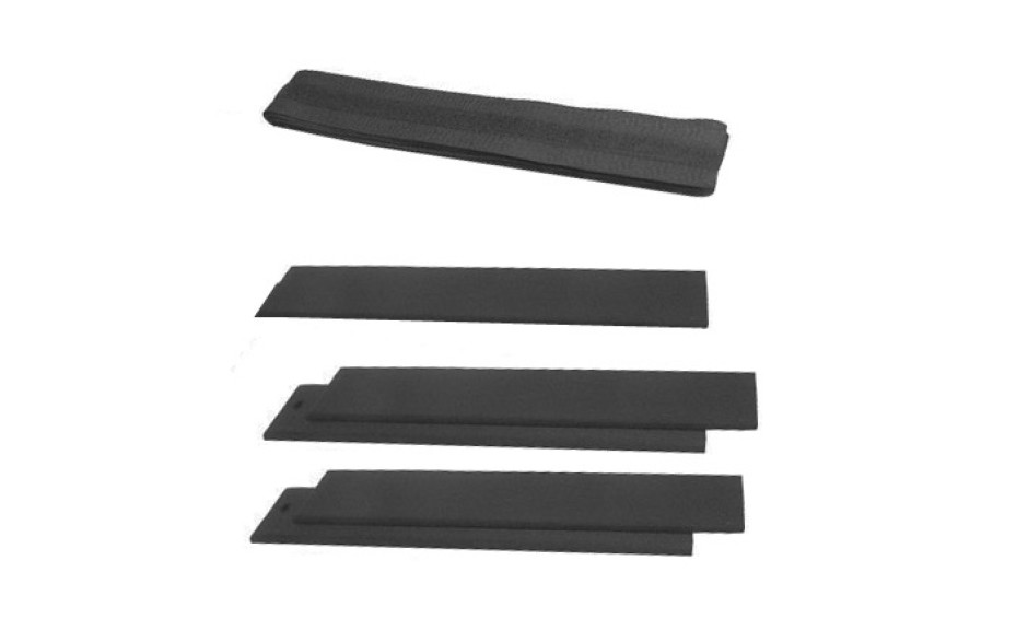 Porta Brace DK-2 Divider Kit, Set of 5 Pieces, Black