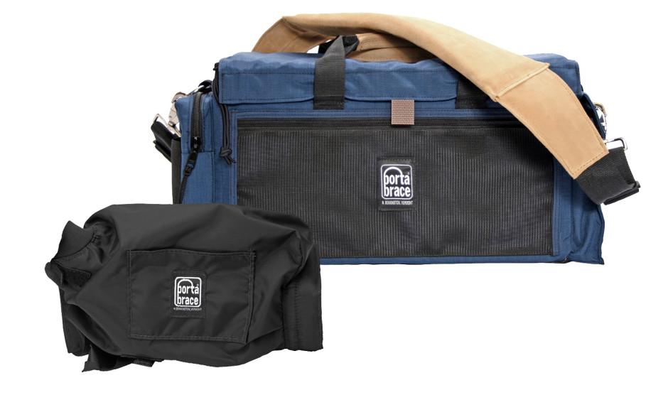 Porta Brace DVO-1UQS-M2 Digital Video Organizer, Blue, Small