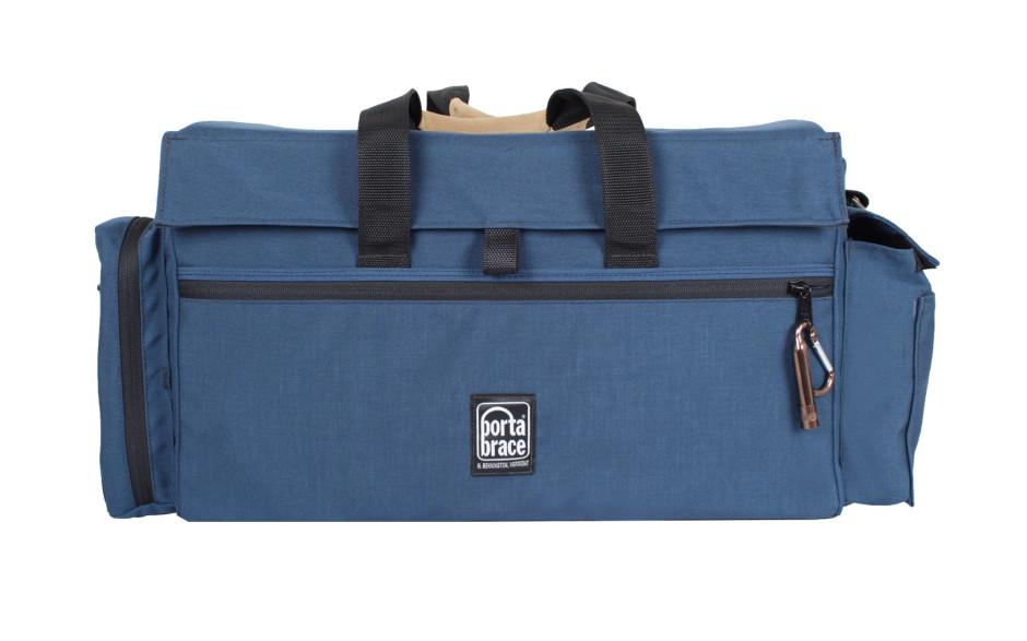 Porta Brace DVO-3U Digtial Video Organizer, Blue, Large