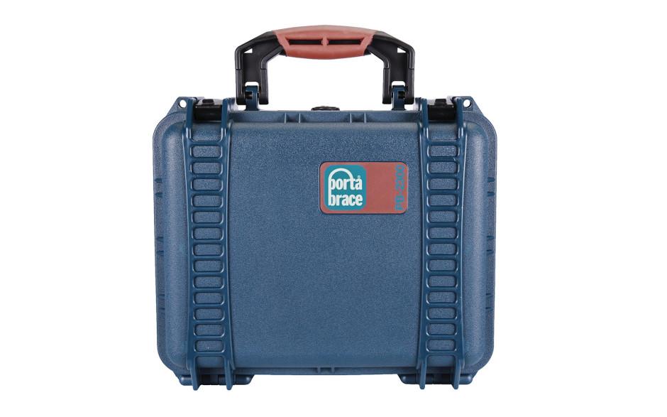 Porta Brace PB-2300F Hard Case, Foam Interior, Airtight, XS, Blue