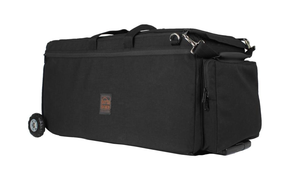 Porta Brace CAR-4CAMOR Cargo Case, Camera Edition, Wheeled, Black, XL