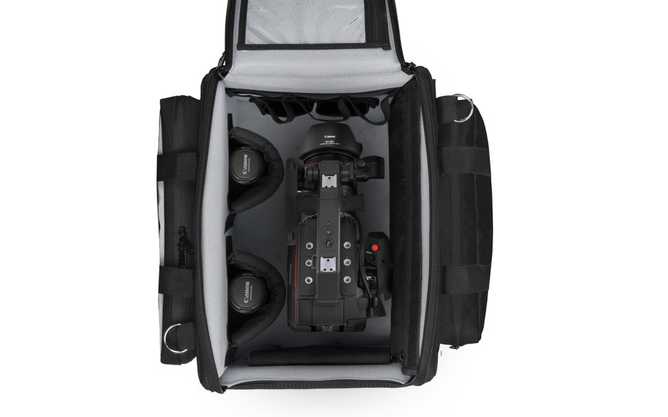 Porta Brace RIG-EVA1XL Camera Case Soft, Quick-Zip Lid, Black